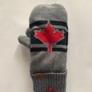 *Canada Leaf Women's Mittens NWT